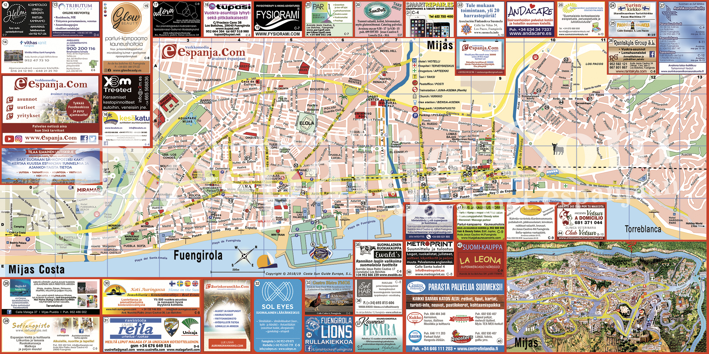 Kartta tieto